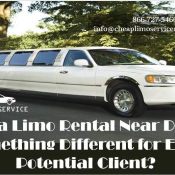 Limo Rental Near DC