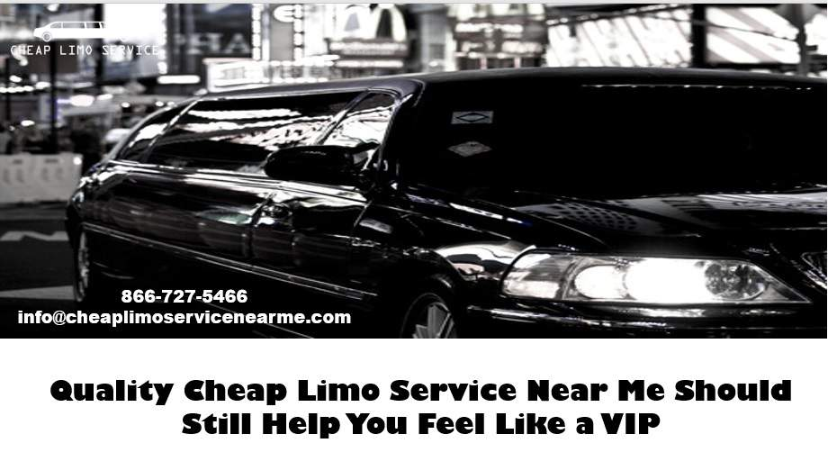 Cheap Limo Service Near Me